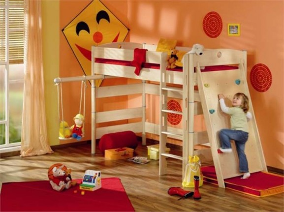 Funny Play Beds/bedroom Design For Kids Room Decorating Ideas