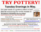 Tuesday Evening in MAY! Special Class!