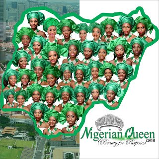 Meet the 37 gorgeous contestants of The Nigerian Queen as Juliet Ibrahim is unveiled as Host