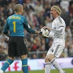 Guti: «Gracias, Valdés»