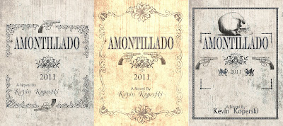 Amontillado by Kevin Koperski (cover concept)