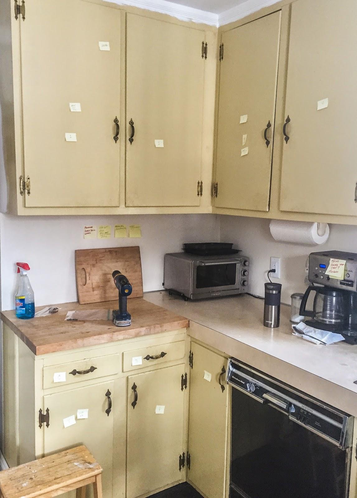 Restoring the splendor old house restorations old home for Kitchen cabinet refacing