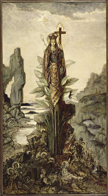 gustave moreau fleur mystique