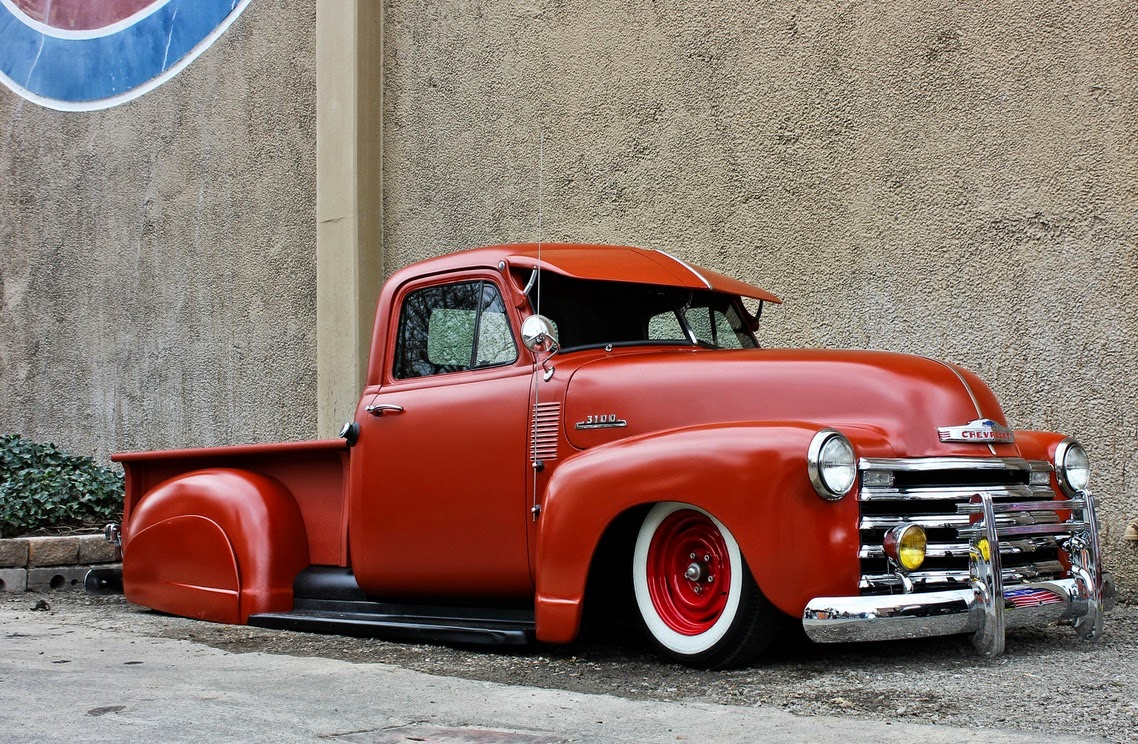 Nostalgia On Wheels Chevy 3100 Bomb Trucks 1951 Pickup Truck Posted By Stretch At 1017 Pm