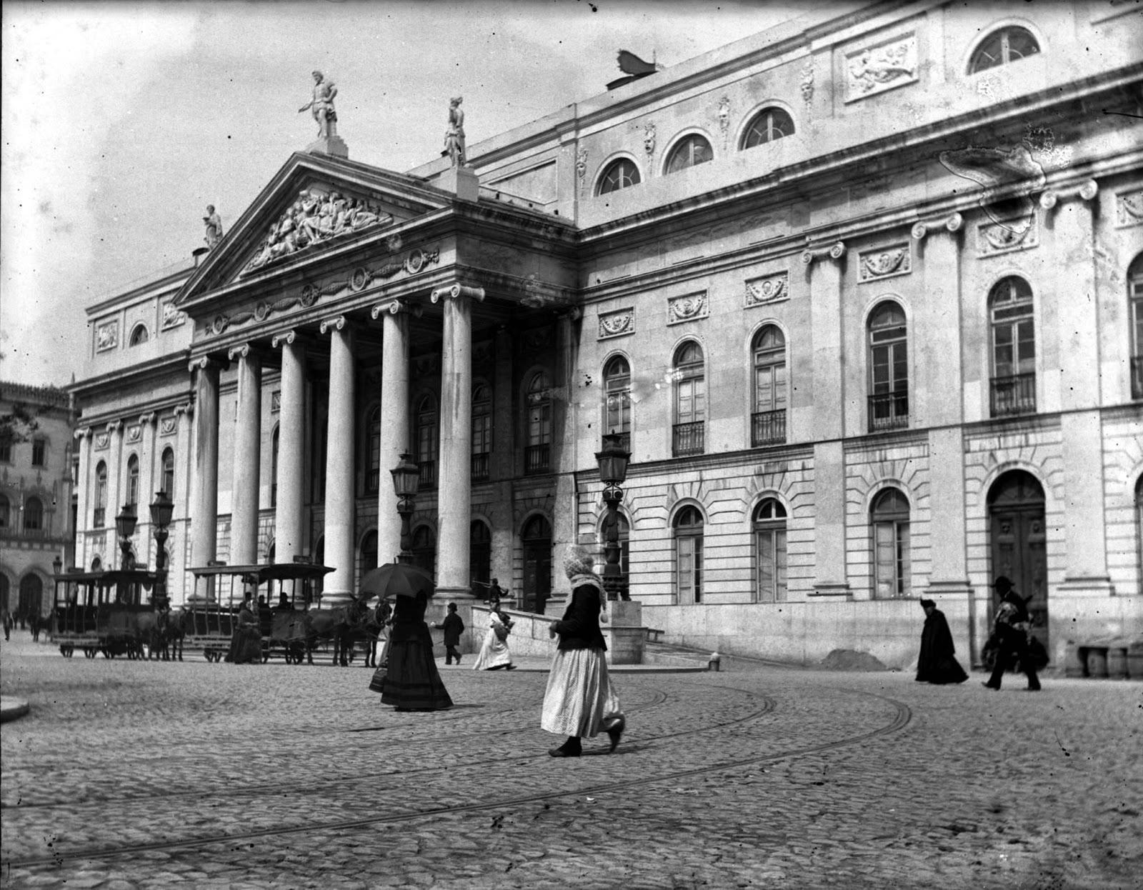 Teatro Nacional D.Maria II 1890