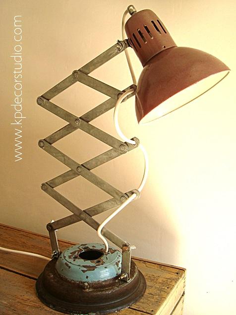 Lámpara de escritorio y de mesa, flexos vintage originales para casa, iluminación vintage en valencia, decoración alternativa