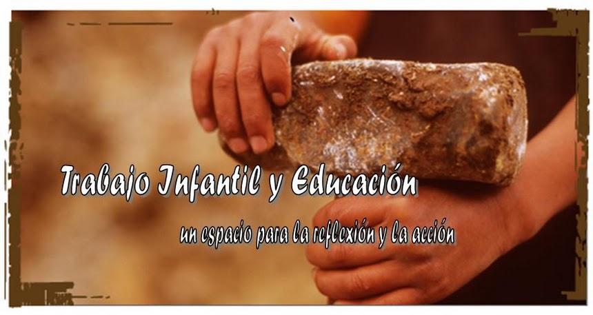 trabajo infantil y educación