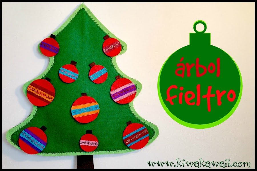 Bolas de fieltro - Bolas de navidad de fieltro ...