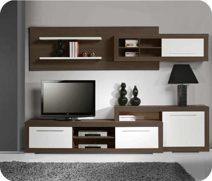 Dise os jomar centro de entretenimiento for Modelos de muebles para tv