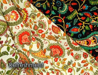 refreshment, linen, paisley, fabric