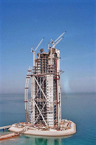 Especiesdeespaciosenconstrucci N Burj Al Arab Dubai