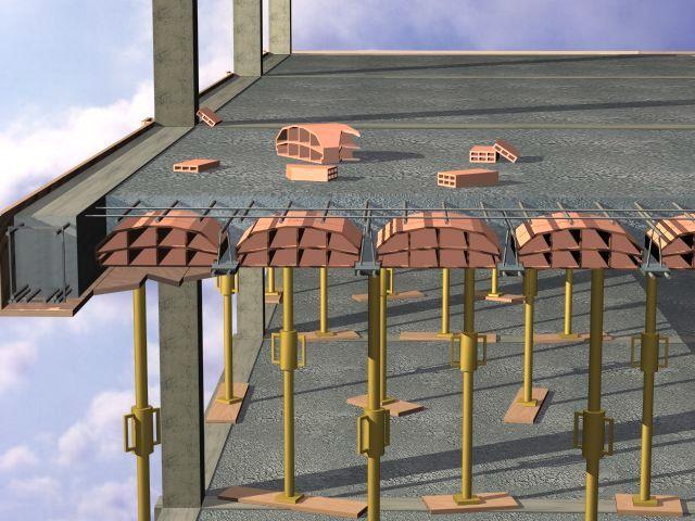 Marzua el forjado for Forjado estructura metalica