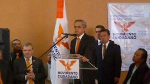 Miguel Angel Mancera registrado como candidato al DF por Movimiento ciudadano