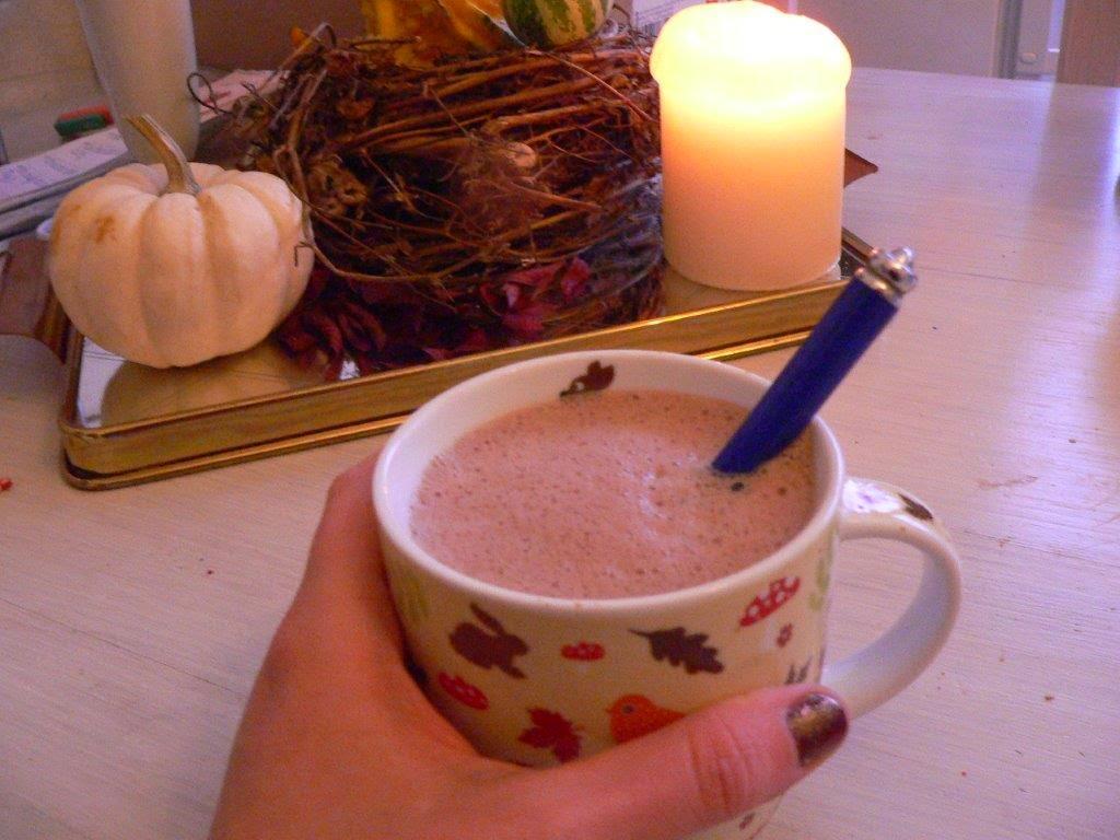 Lavendelkakao Kakao heiß Herbst Rezept wärmen gemütlich