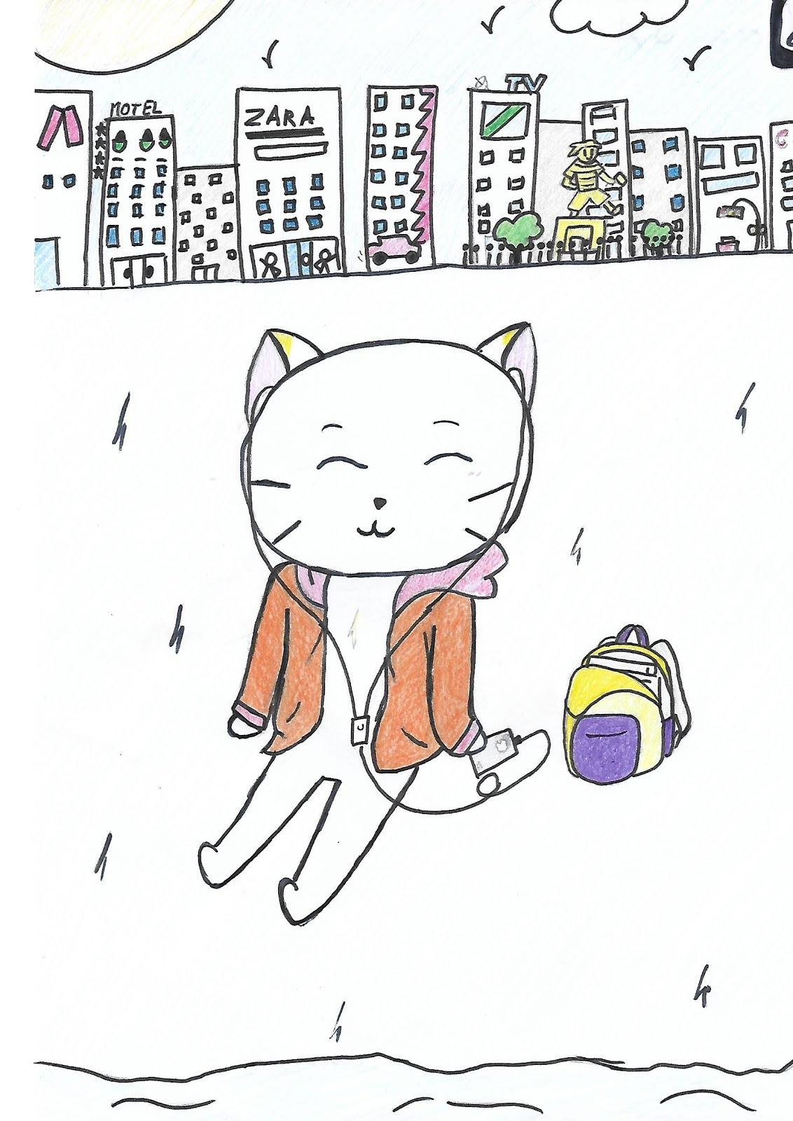 """A gata Cata no tema deste ano """"Literatura e Música da man en Catabois"""""""