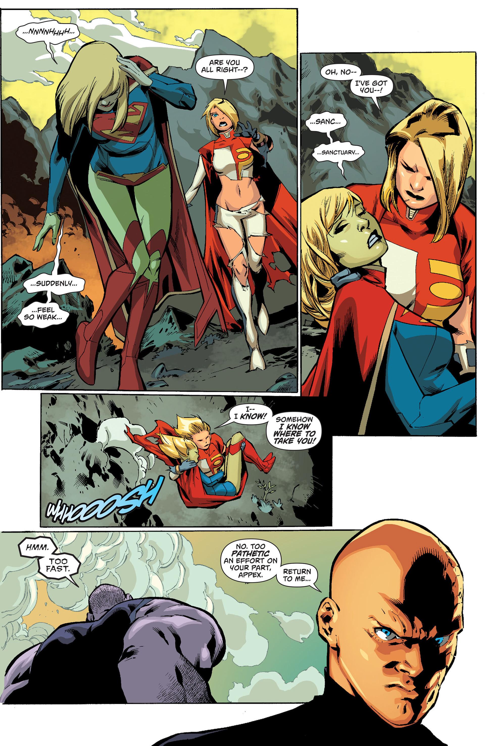 Supergirl (2011) Issue #19 #21 - English 16