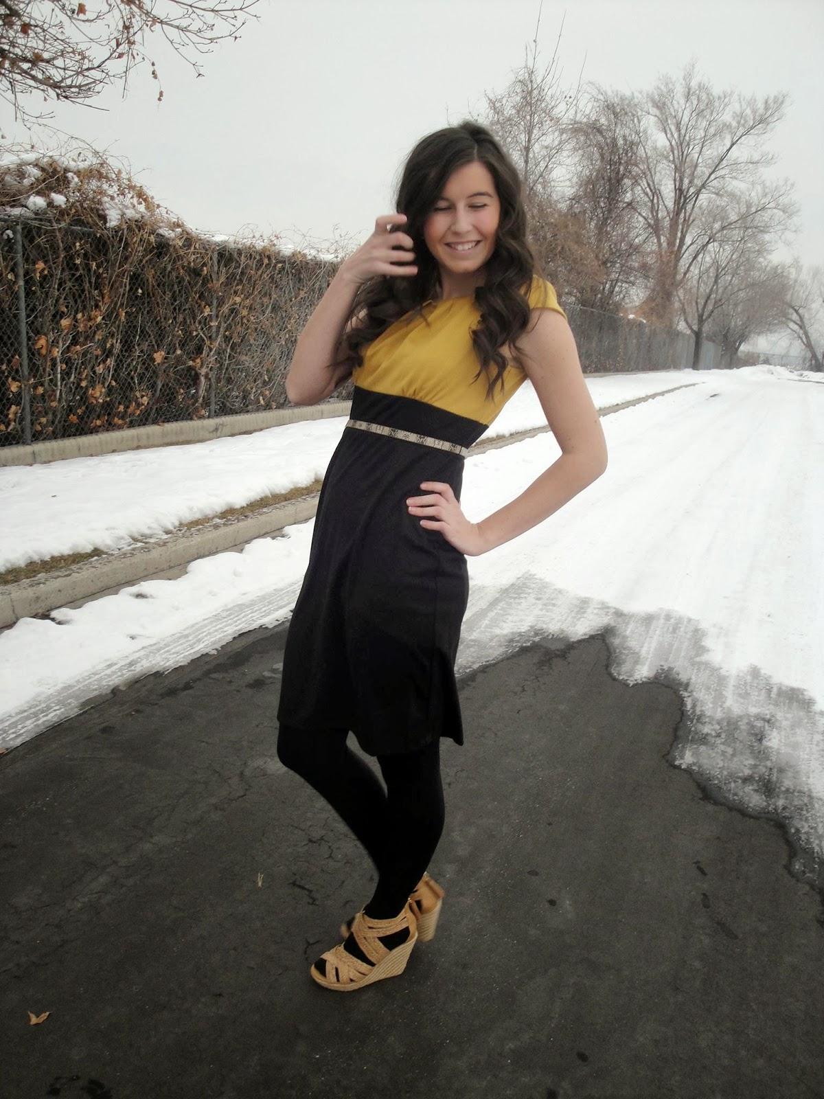 jcpenneys, helene blake, cap sleeve dress, jcpenneys dress, dressy, professional, pretty, dressy, long hair, curly hair,