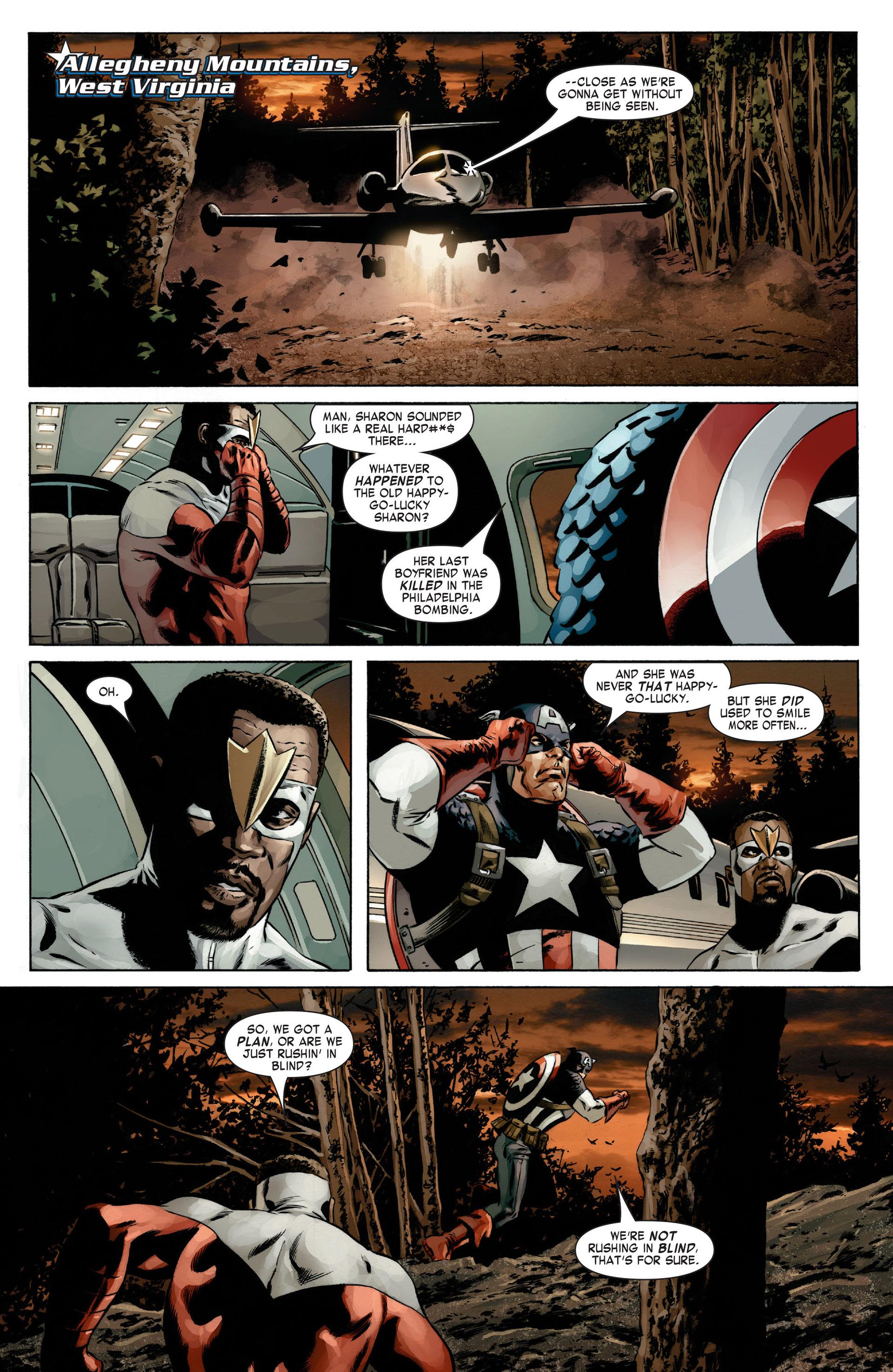 Captain America (2005) Issue #13 #13 - English 21