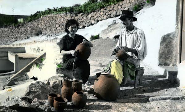 Pancho y María