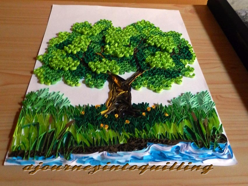 A Journey Into Quilling Amp Paper Crafting Lanscape