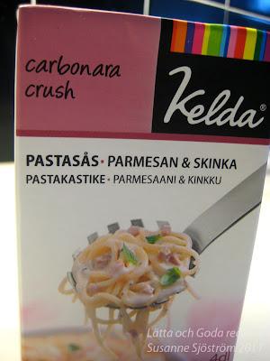 kelda pastasås parmesan och skinka