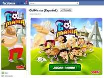 Juego de fútbol en Facebook GolMania