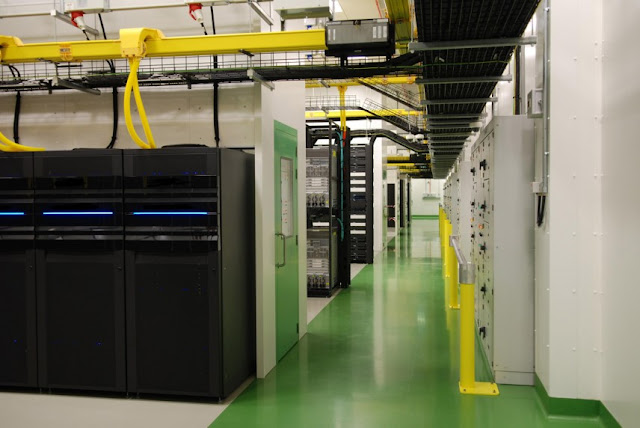 Data centre in Dublin, part of Infra-Éireann