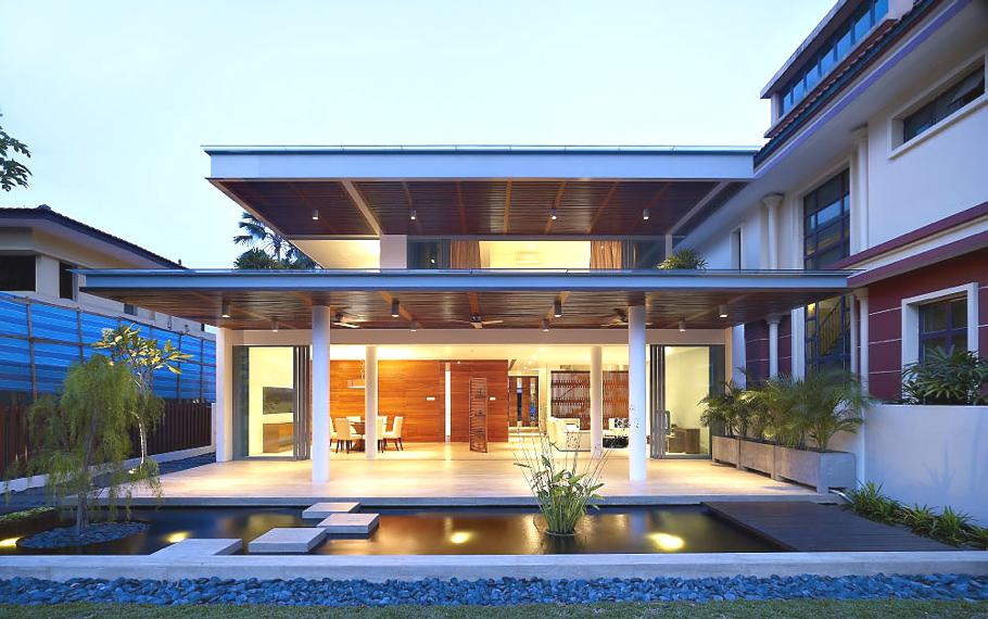 Home design latest singapore modern homes exterior designs - Modern home pictures ...