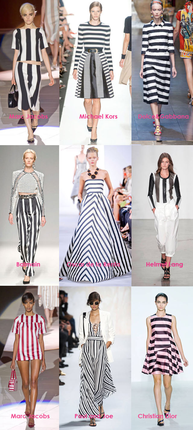 Spring Summer Trends 2013, Major Stripes