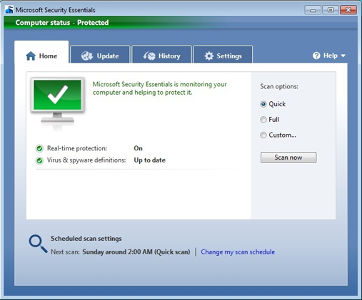 Download Microsoft Security Essentials For All Windows