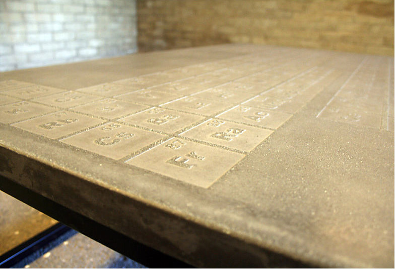 Periodic Concrete Coffee Table By James Dewulf Is A Formula For Hip Home Decorcelebrity Sex
