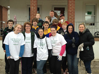 Participants in the first Irish Day of Action in the Rockaways last November.