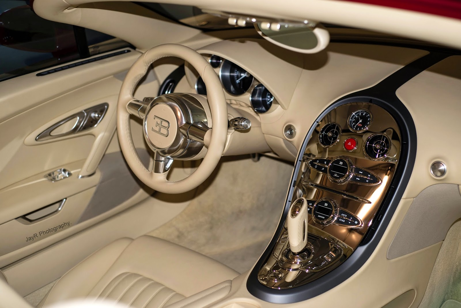 Possibly The Best Veyron Interior.