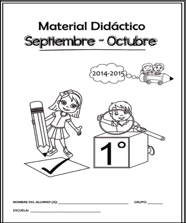 Cuadernillo de Apoyo Didáctico para Primer Grado 2014 - 2015