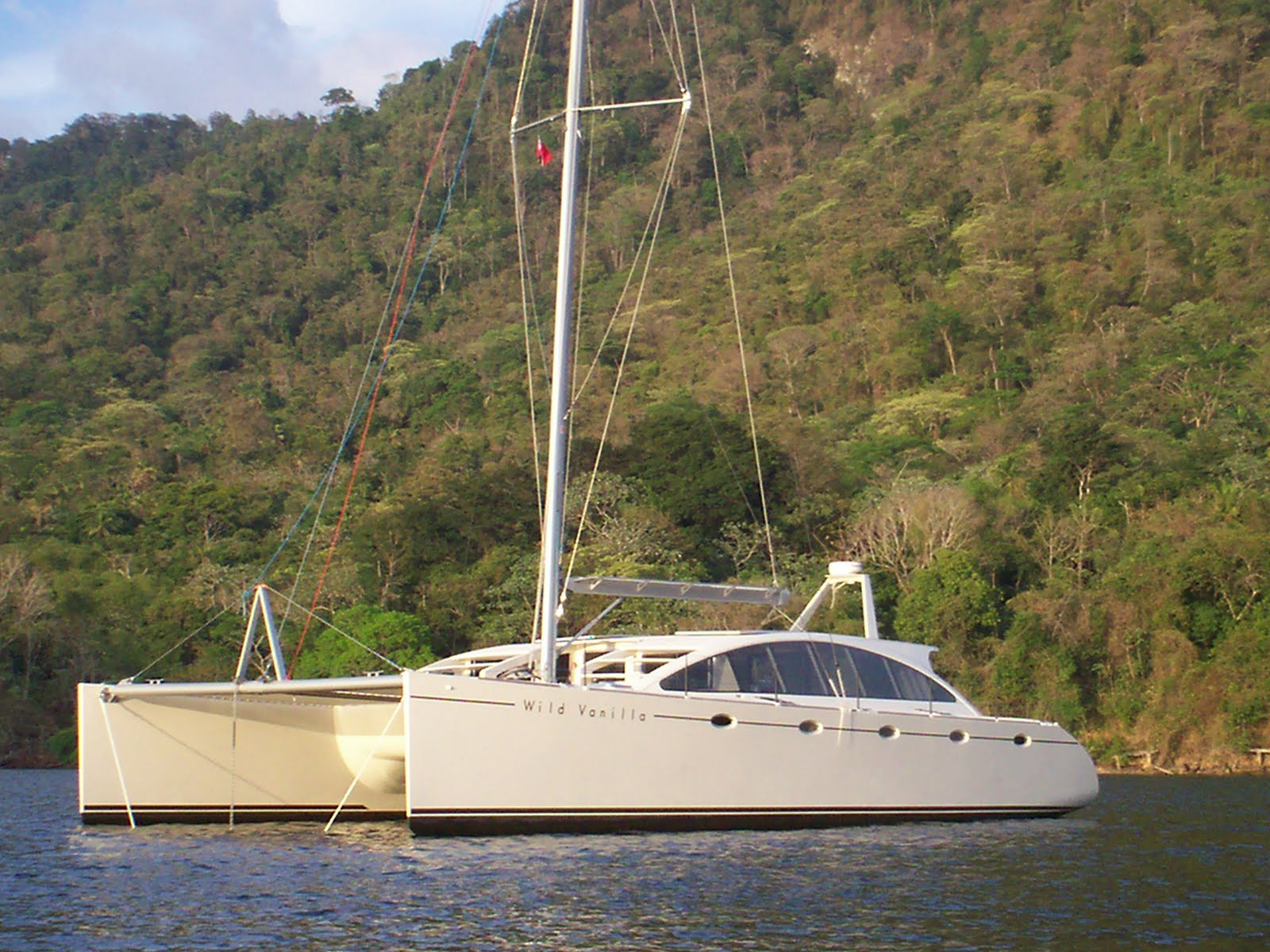 Catamaran: Guide Plywood cruising catamaran plans