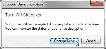 Cara Mengunci Drive Dengan BitLocker Drive Encryption