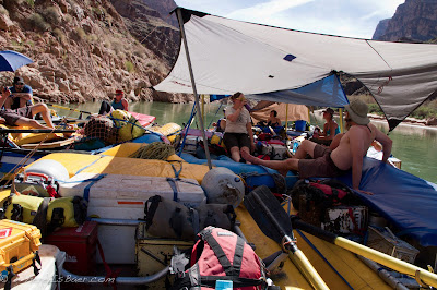 Party Barge, raft, Grand Canyon of the Colorado, Chris Baer