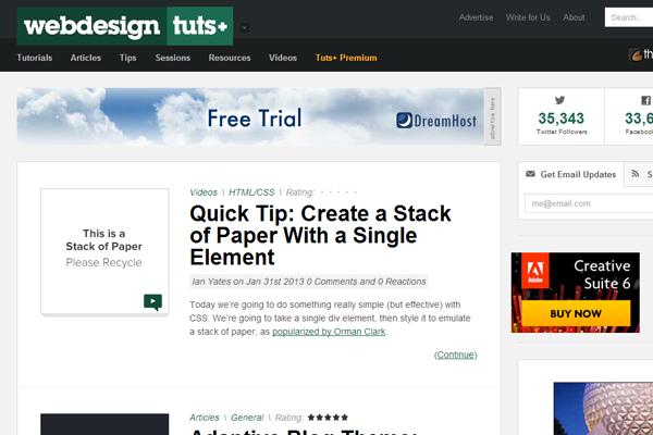 Web Design Tuts+