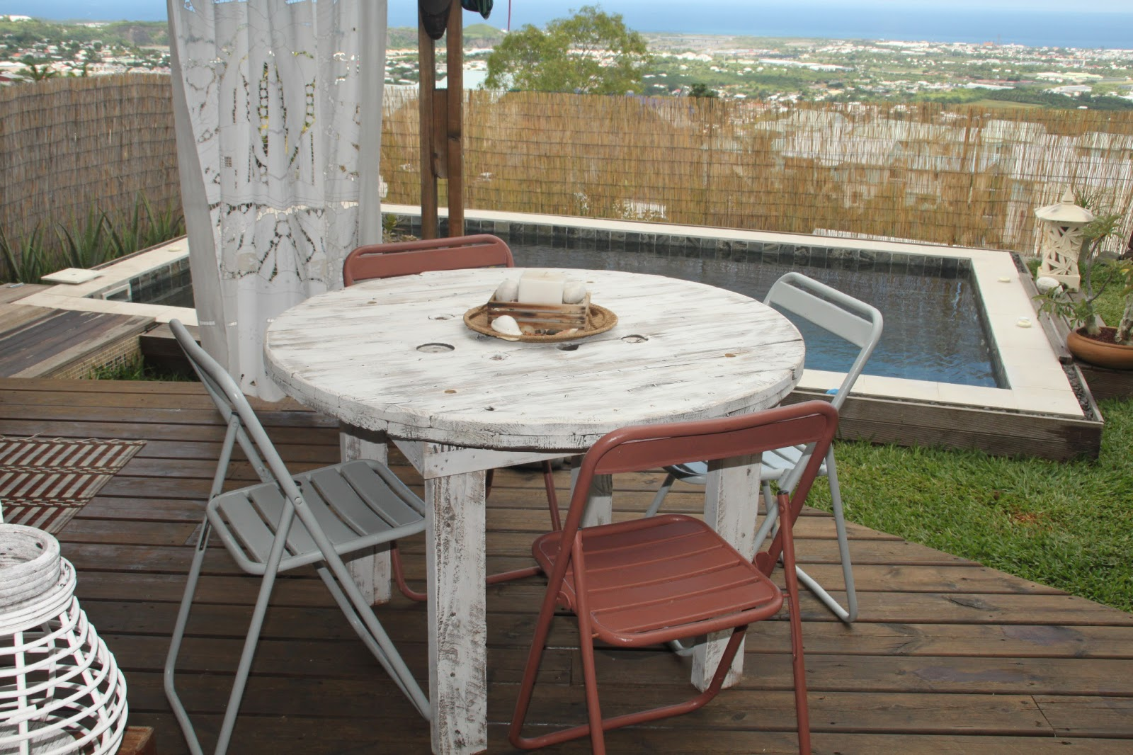 table exterieure touret. Black Bedroom Furniture Sets. Home Design Ideas