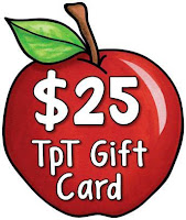 Fern Smith's Classroom Ideas Big TeacherspayTeachers Gift Card, TeacherspayTeachers resources and Clip Art Gift Card from Melonheadz TPT Store!