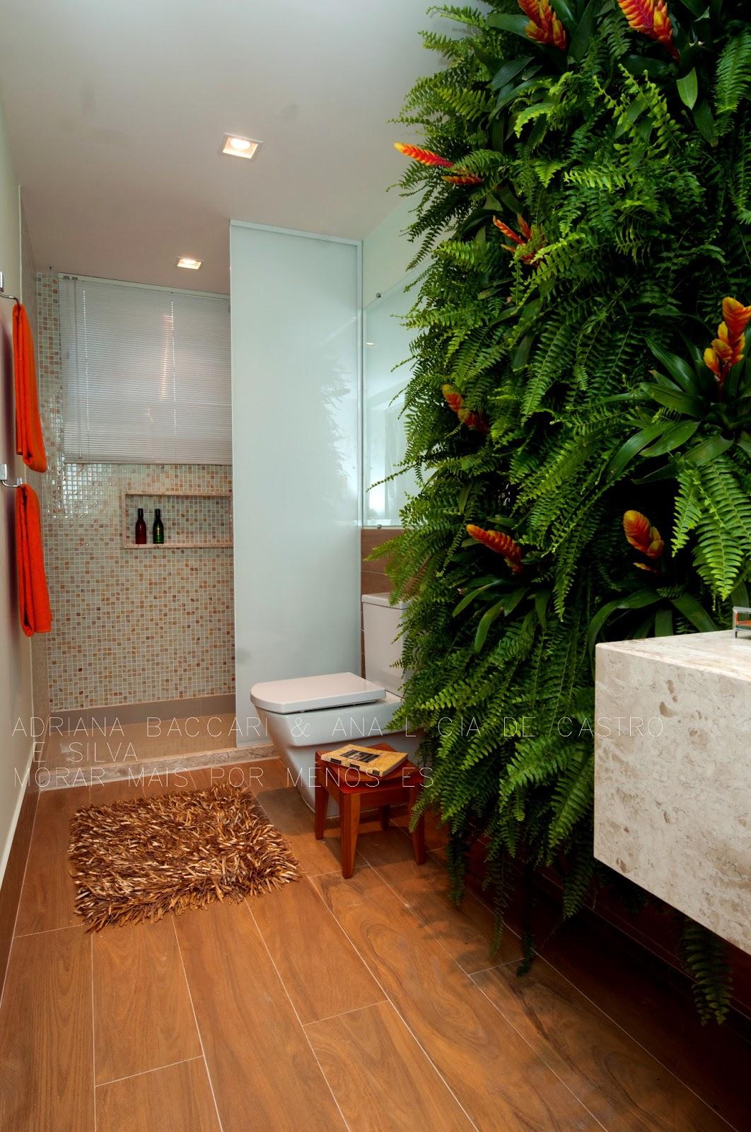 BACCARI INTERIOR DESIGN: Projeto Banheiro Social  Lavabo #436217 1062 1600