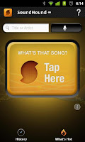 SoundHound for Android Symbian iOS