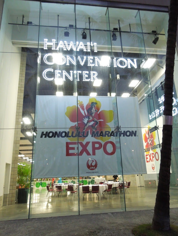 Honolulu Marathon Expo Hawaii Convention Center