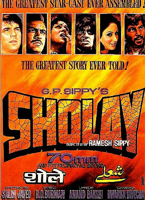 Sholay Mp3 Songs and Movie Dialogues in Mp3