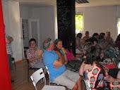 La sediul Interacting, ambele grupe, prima întâlnire