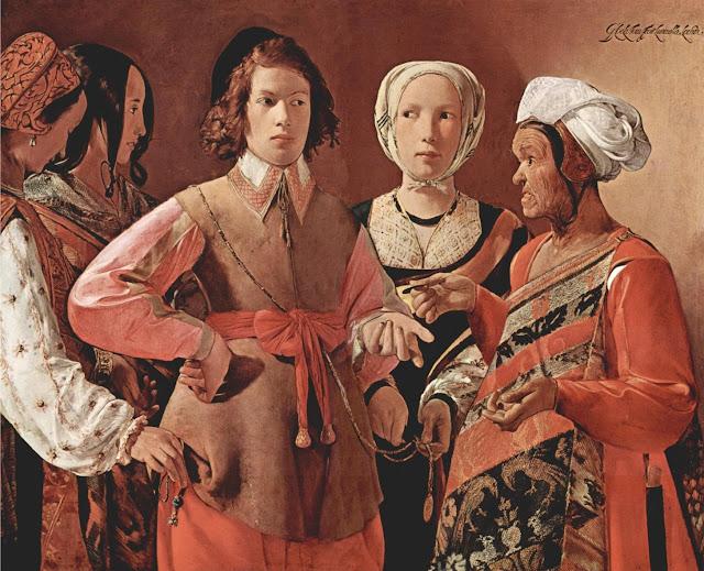 The fortune Teller,Georges de la Tour,baroque art