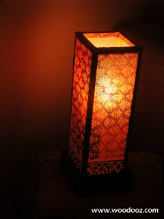 Home-made lampshade