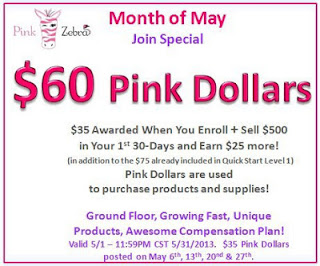 Join Pink Zebra May Consultant Special Image