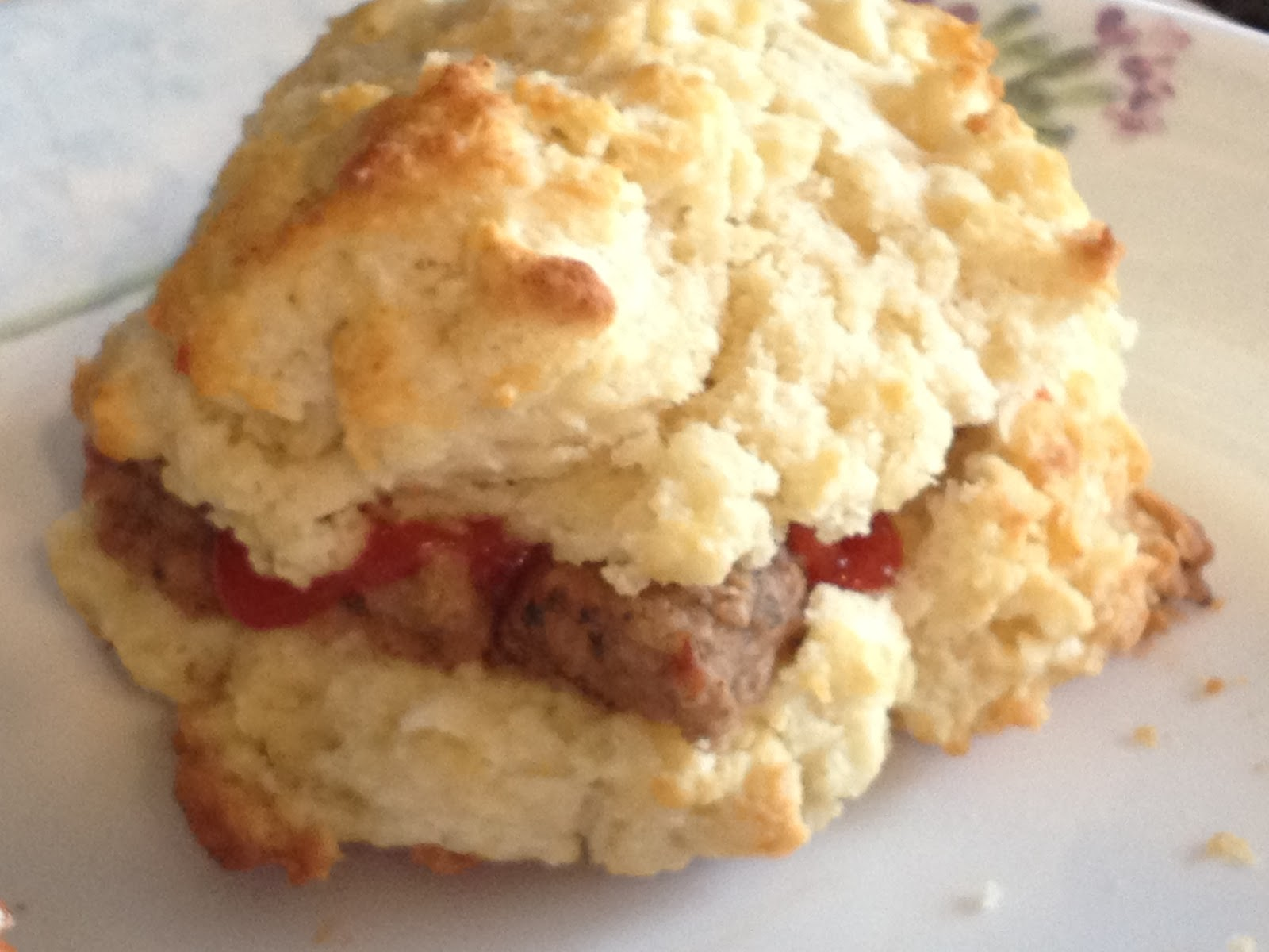 At the Pink of Perfection: Recipe: Sausage Biscuits