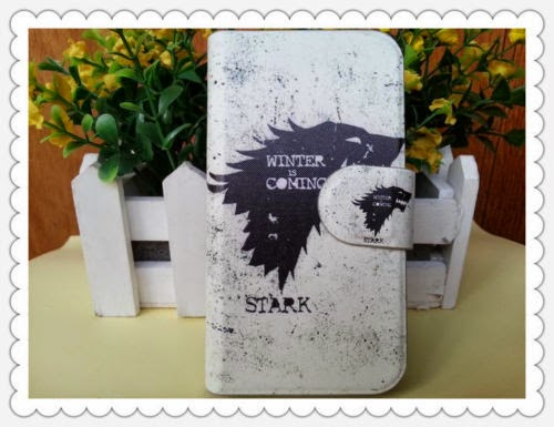 Thrones Stark Fire Blood dragon Wolf PU leather flip case cover for SONY Xperia